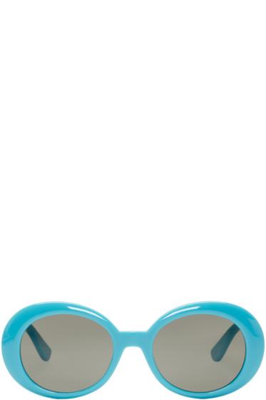 Saint Laurent - Blue SL 98 California Sunglasses