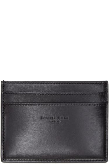 Saint Laurent - Black Leather Card Holder
