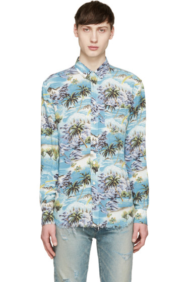 Saint Laurent - Multicolor Hawaiian Shirt
