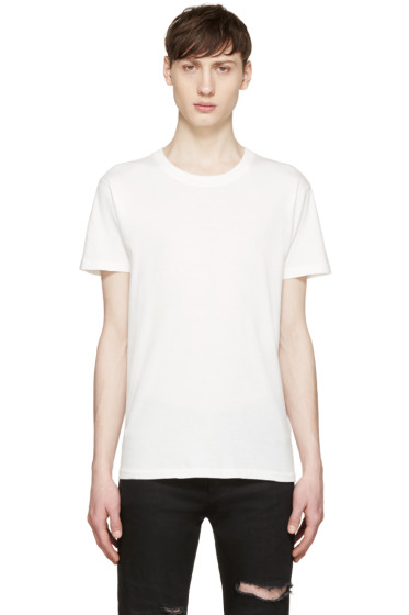 Saint Laurent - White Destroyed T-Shirt