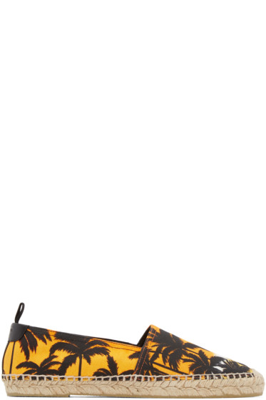 Saint Laurent - Orange Sunset Espadrilles