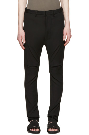 Julius - Black Skinny Sarouel Trousers