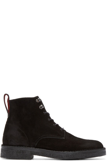 PS by Paul Smith - Black Suede Echo Boots