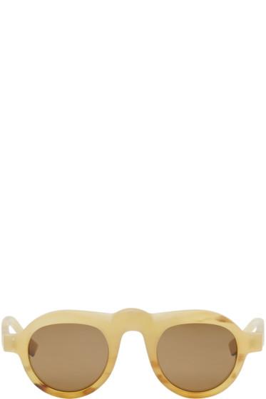 Rigards - Amber Horn RG0047 Sunglasses