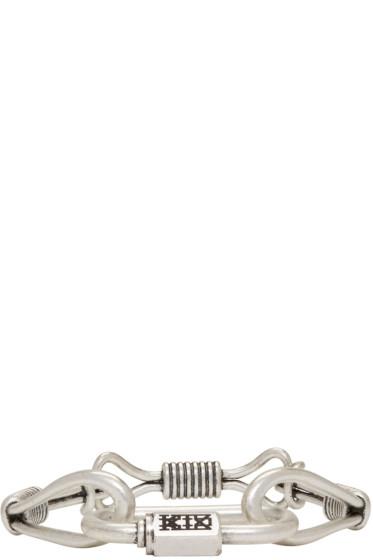 KTZ - Silver Wire Bracelet