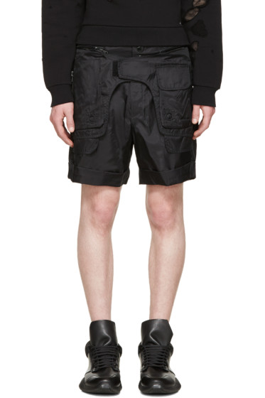 KTZ - Black Body Bag Shorts