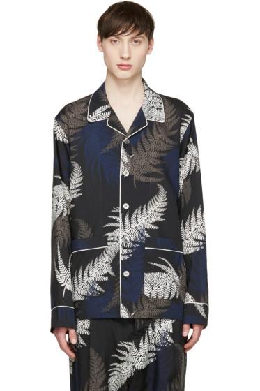 Sacai - Multicolor Leaf Print Shirt