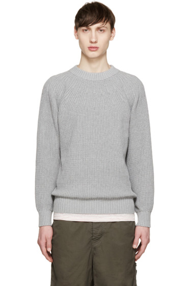 Sacai - Grey Knit Sweater