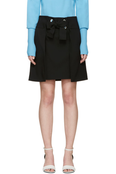 Mary Katrantzou - Black Pomeroy Miniskirt