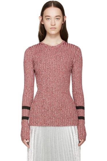 Mary Katrantzou - Red Knit Fontaine Sweater