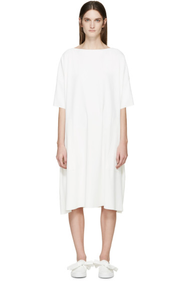 Cédric Charlier - White Crepe Dress