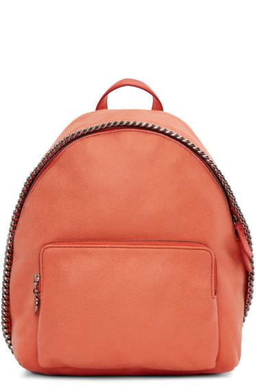 Stella McCartney - Coral Small Falabella Shaggy Deer Backpack