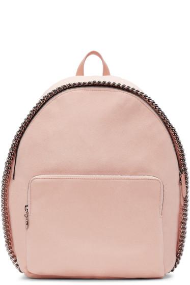 Stella McCartney - Pink Falabella Zip Around Backpack