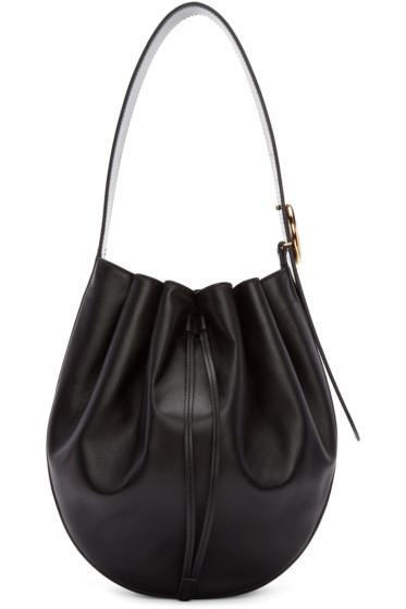 Stella McCartney - Black Round Large Bag