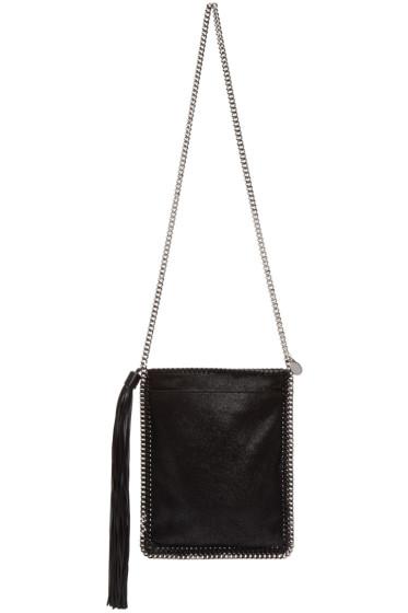 Stella McCartney - Black Tassel Falabella Shaggy Deer Bag