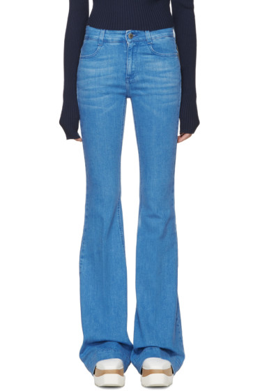 Stella McCartney - Blue The 70s Flared Jeans