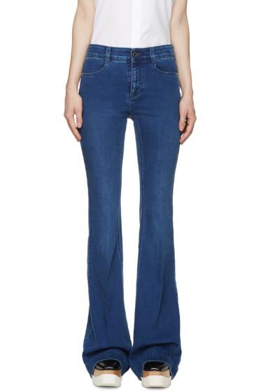 Stella McCartney - Blue The 70s Flare Jeans