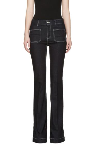 Stella McCartney - Indigo 70's Flare Jeans