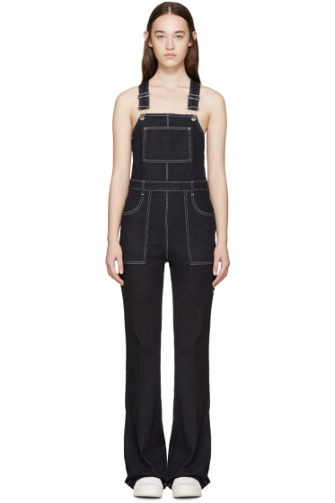 Stella McCartney - Indigo Denim Overalls