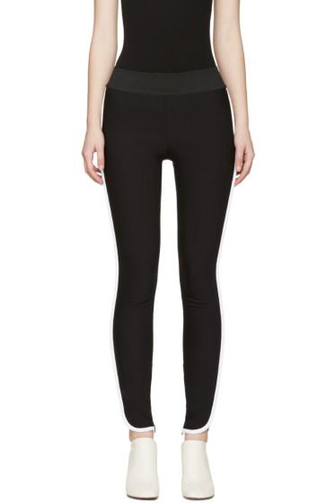 Stella McCartney - Black & White Tabitha Trousers