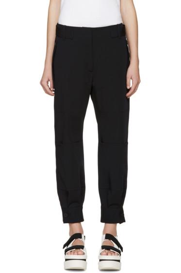 Stella McCartney - Navy Wool Monza Cargo Pants