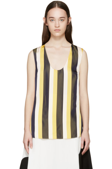 Stella McCartney - Tricolor Striped Tank Top