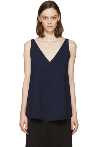 Stella McCartney - Navy Sutton Tank Top