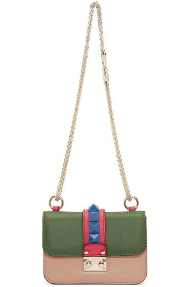 Valentino - Multicolor Mini Rockstud Lock Bag