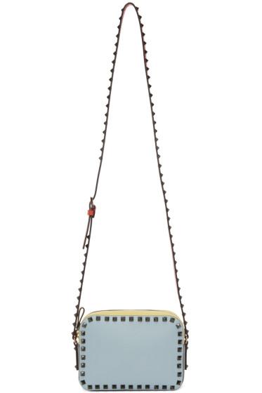 Valentino - Multicolor Leather Rockstud Camera Bag