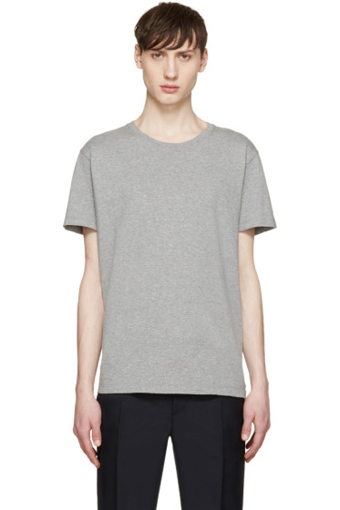 Valentino - Grey Single Stud T-Shirt