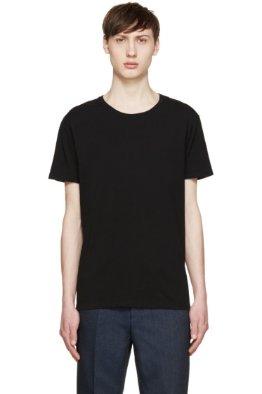 Valentino - Black Single Stud T-Shirt