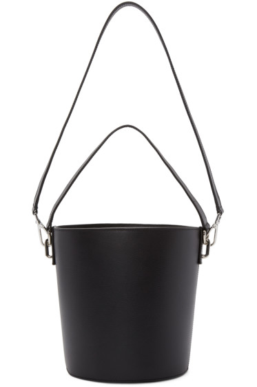 J.W.Anderson - Black Leather Bucket Bag