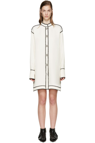 J.W.Anderson - Ecru Reverse Seam Shirt Dress