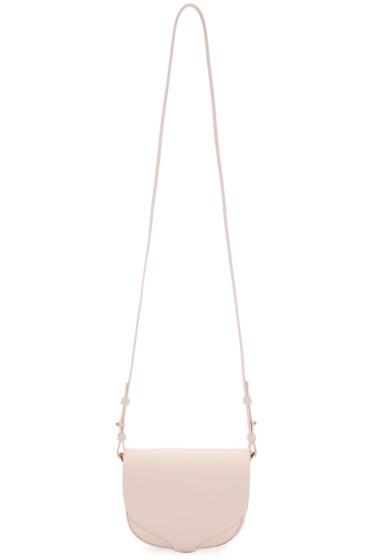 Sophie Hulme - Pink Mini Barnsbury Shoulder Bag