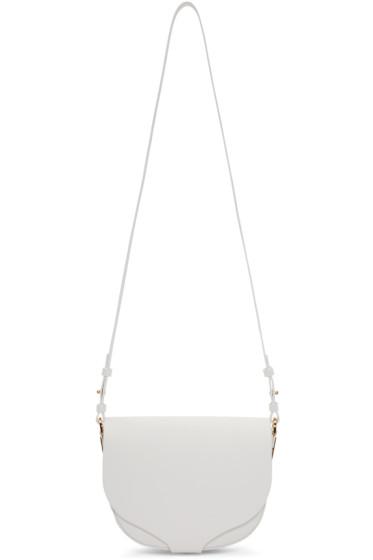 Sophie Hulme - White Medium Barnsbury Bag