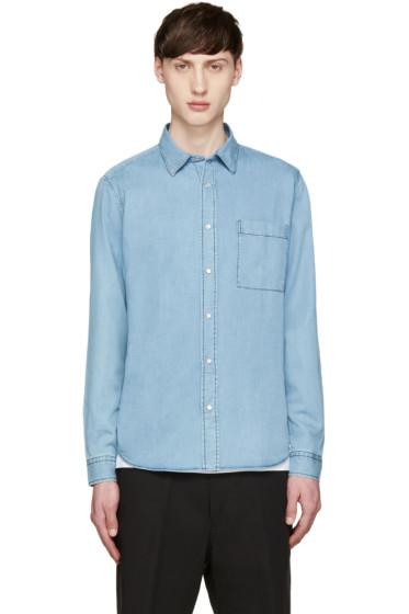 AMI Alexandre Mattiussi - Blue Chambray Shirt