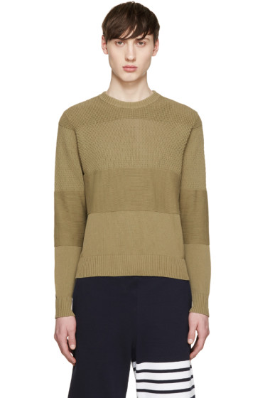 AMI Alexandre Mattiussi - Green Knit Sweater