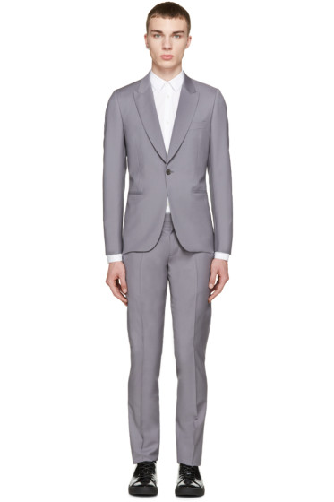 Paul Smith London - Grey Wool Two-Piece Soho Suit