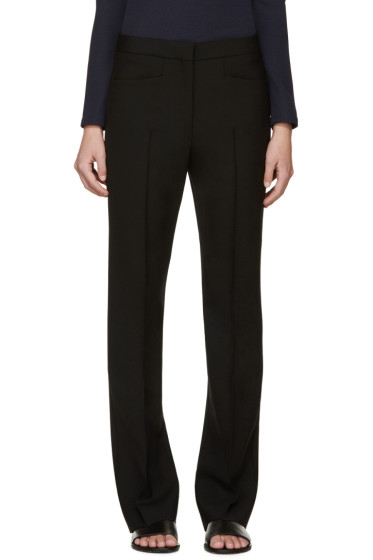 Calvin Klein Collection - Black Pleated Ferran Trousers