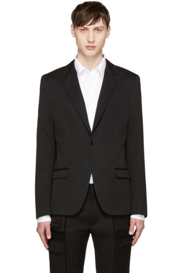 Calvin Klein Collection - Black Cotton Blazer