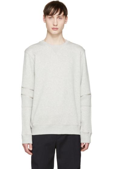 Tim Coppens - Grey Core Zipper Pullover