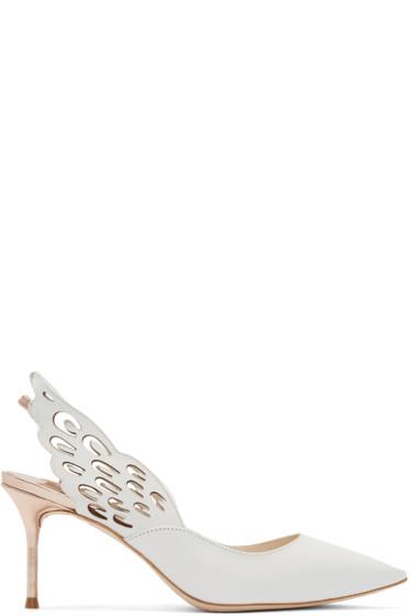 Sophia Webster - White Winged Angelo Heels