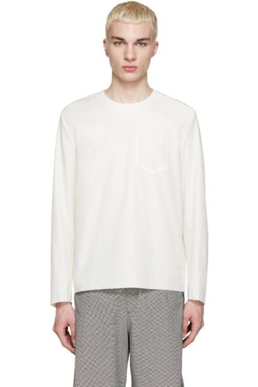 Yang Li - Off-White Raw Edge Shirt