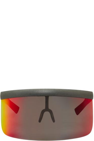 Mykita - Grey Bernhard Willhelm Edition Daisuke Sunglasses