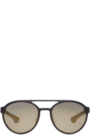 Mykita - Black Mylon Targa Sunglasses