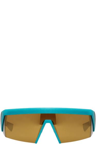 Mykita - Black & Blue Bernhard Willhelm Edition Vice Sunglasses