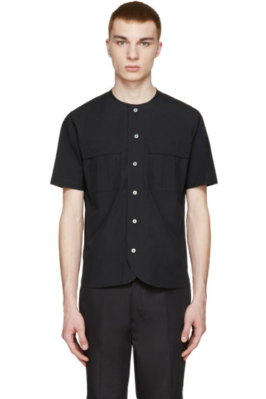 08Sircus - Black Vintage Typewriter Shirt