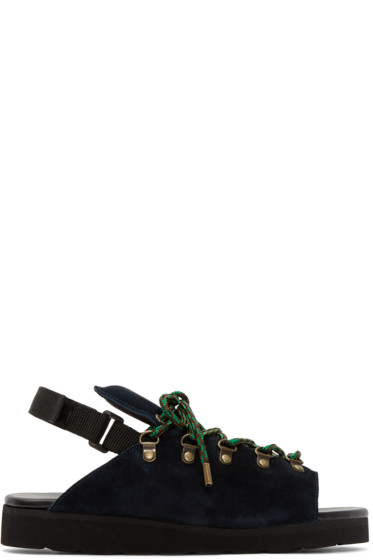 Kolor - Navy Hiking Hybrid Sandals