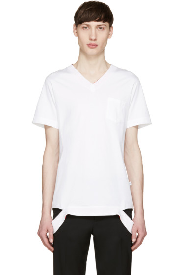Facetasm - White Pop Color T-Shirt