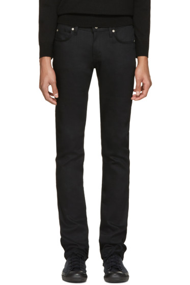 Naked & Famous Denim - Black Power-Stretch Superskinny Guy Jeans